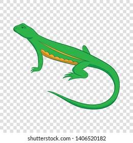 Salamander icon. Cartoon illustration of salamander vector icon for web