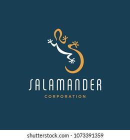 Salamander logo concept design - Vector EPS10.