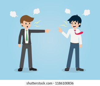 Salary Man 01 are Quarrel with Colleagues. Without Planning, Mistakes can cause a Fight.