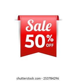 Sale 50% Off Label