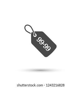 Sale 99.99 icon. Vector  Eps 10