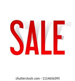 Sale background, banner template design