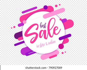 Sale badge (logo) design