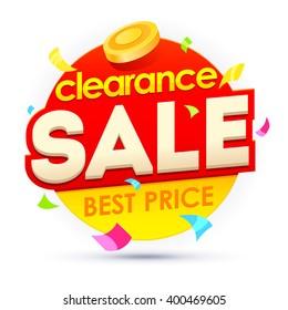 Sale banner, badges, design vector illustration. Badges vector discount. Clearance sale badges. Sale sticker template