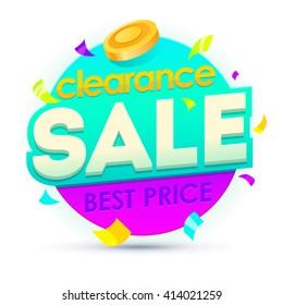 Sale banner, badges, design vector illustration.