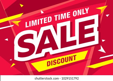 sale banner layout design