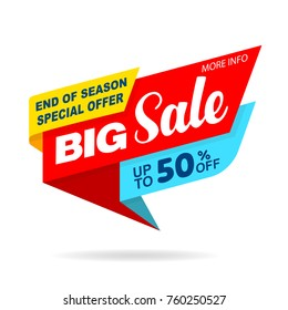 Sale banner original design black and yellow