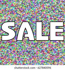 Sale banner, poster. special offer, discounts. Vector illustration.