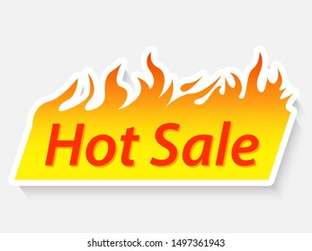 sale banner promotion product. vector illustration