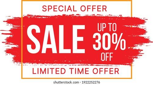 Sale Banner Template Vector Illustrations