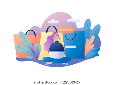 2fac55c92 Female Character Shopping Bags Images