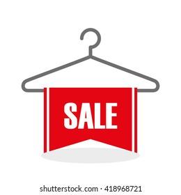 Sale design. Offer concept. white background