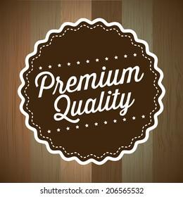 sale design over brown background vector illustration
