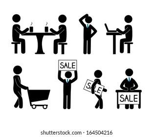 sale design over white background vector illustration