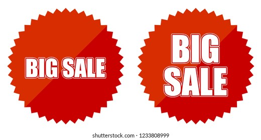 Sale Discount Tags, Badges