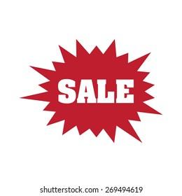 Sale flash, vector illustration