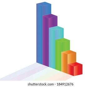 Sale Graph, vector eps10 illustration