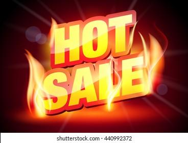 Sale. Hot Sale.