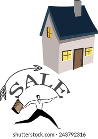 sale house background