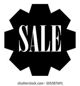 Sale icon. Simple illustration of sale vector icon for web