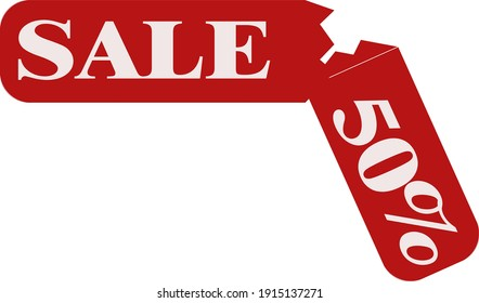 sale lable for the internet store