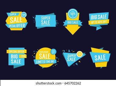 Sale lettering with creative design