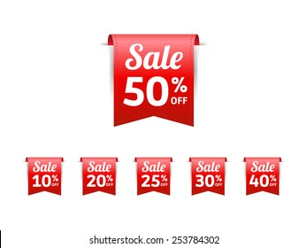 Sale % Off Label