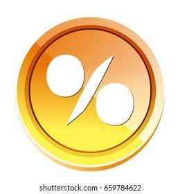 sale percent icon