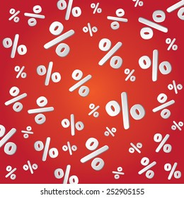 sale percentage, vector