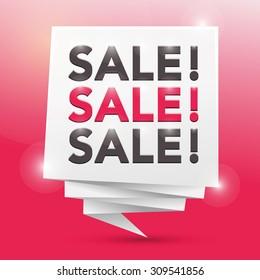 sale sale sale, poster design element