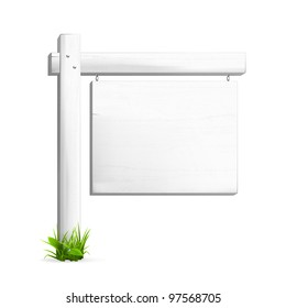 For sale sign, vector