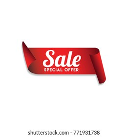 Sale Special Offer Logo Vector Template Design