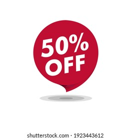 Sale of Special Offers and Discount Gradient Banner Template Vector Design. - stock vector