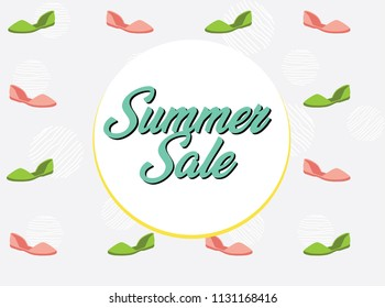 Sale, Summer Shoes, Espadrilles, Pattern, Background, Summer Sale,