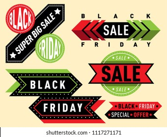 Sale vector badge stickers lables percent discount shopping saledays black friday discount special webshop offer symbols illustration.