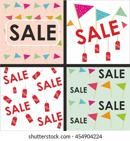 sale vector patterns