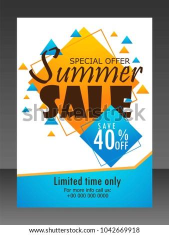 sales flyer sale stock vector royalty free 1042669918 shutterstock