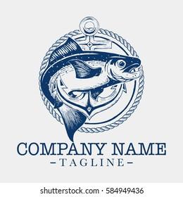 Salmon logo design