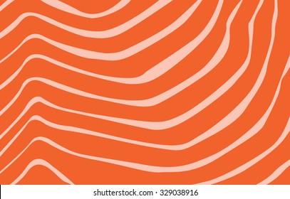 Salmon texture in vector.