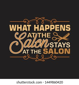 Salon Quotes Images, Stock Photos & Vectors | Shutterstock