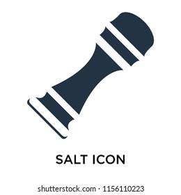 Salt icon vector isolated on white background, Salt transparent sign