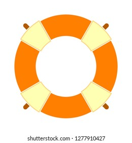 salvation icon - salvation isolated , lifesaver illustration- Vector buoy