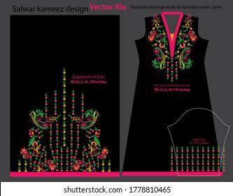 salwar kameez design for ready to print
