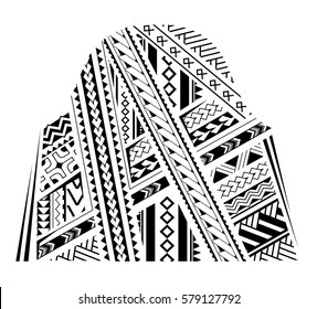 Samoa style ornament. Good for bicep and sleeve tattoo
