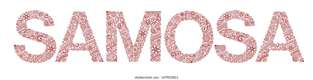 Mehndi Font Images, Stock Photos & Vectors | Shutterstock