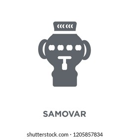 Samovar icon. Samovar design concept from Russia collection. Simple element vector illustration on white background.