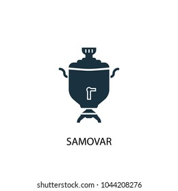samovar icon. Simple element illustration. samovar concept symbol design from Russia collection. Can be used for web and mobile.