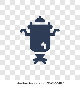 Samovar icon. Trendy Samovar logo concept on transparent background from Culture collection
