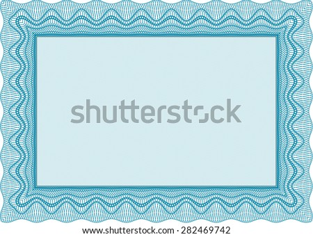 frame certificate template vectorwith quality background excellent design - Certificate Frame Template