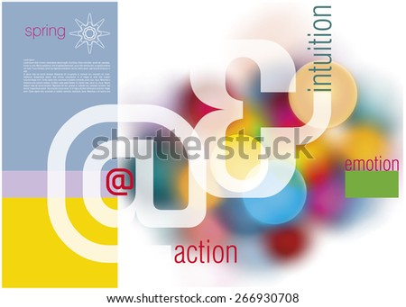 sample cover background design brochures booklets stock vector
